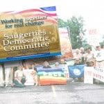 Political banner sign